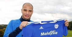 Former Arsenal striker Marouane Chamakh signs short-term deal with Cardiff City