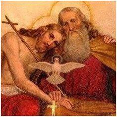 Jesus Christ God the Father Holy SpIrit Religious Pictures, Jesus Pictures, Religious Icons, Religious Art, Catholic Prayers, Catholic Art, Catholic Saints, Roman Catholic, Miséricorde Divine