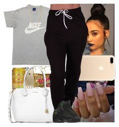 """Untitled #793"" by msixo ❤ liked on Polyvore featuring Michael Kors, NIKE and Bianca Pratt"