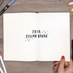 can't wait to create my 2018 vision board ✨ the power of visualization is stronger than people realize! if you haven't seen my newest video yet, make sure you check it out! there are a bunch more bullet journal ideas to help you get ready for 2018!