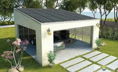 Solar powered carport idea