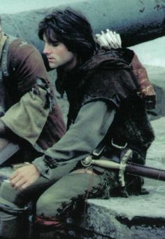 Michael Praed as Robin in the tv series Robin Of Sherwood