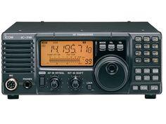 Icom HF All Band Amateur Base Transceiver 100 Watts Original Icom USA ** Details can be found by clicking on the image. Radios, Radio Amateur, Hf Radio, Radio Wave, Ham Radio Equipment, Audio Equipment, All Band, Short Waves, Digital Technology