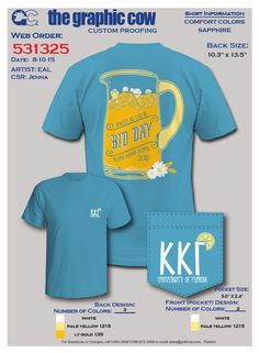 """This design would be cute for a """"LemonADPi"""" event!"""