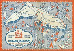 Howard Johnson's place mat