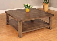 Surprising Large Square Coffee Table