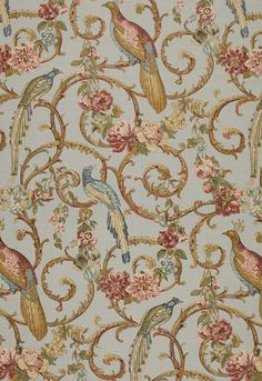 """Madrigal  Sky  Fabric SKU - 1124002  Repeat - Half Drop  Width - 54""""  Horizontal Repeat - 27""""  Vertical Repeat - 53""""  WYZ/MAR - Wyzenbeek 10,000  Fabric Content - 52% Linen / 48% Cotton  Country of Finish - United Kingdom"""