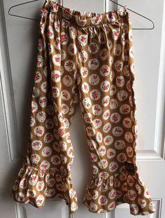 1312727a4173b MATILDA JANE Boutique Secret Fields Ruffle Pants Leggings Girls Size 8 Mint  Cond | eBay Matilda