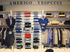 Qualche scatto del nostro negozio. Siamo in in via B. Marcello 2 a Modena Seguici su https://www.facebook.com/AmerigoVespucciAbbigliamento