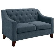 Tufted and Upholstered Loveseat -Threshold™ - shows more content