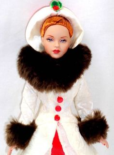 "Hallmark Holiday Memories Tonner Tiny Kitty 10"" DRESSED DOLL Christmas Outfit #TonnerDollCompany #DollswithClothingAccessories"