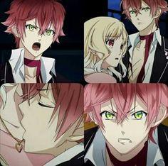 Diabolik Lovers Ayato, Ayato Sakamaki, Diabolik Lovers Season 1, Cute Anime Boy, Anime Love, Anime Guys, Yui And Ayato, Hot Vampires, Vampire Knight