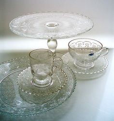 Lasikammari – Tableware. Apila, vanha malli 1890-luvulta, 1977-93, Nuutajärvi Punch Bowls, Finland, Glass, Cups, Tableware, Vintage, Design, Home Decor, Mugs