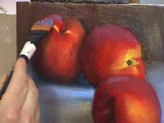 HOW TO PAINT VIDEO LESSONS TOMATOES, PEACHES & PEPPER