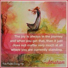 #joy #journey #Abraham #hicks