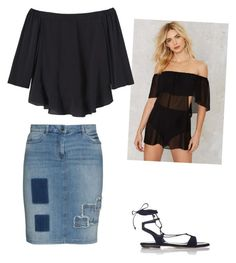 """Untitled #133"" by aayushis on Polyvore featuring Mystic, Rebecca Taylor, Frapp and Miu Miu"