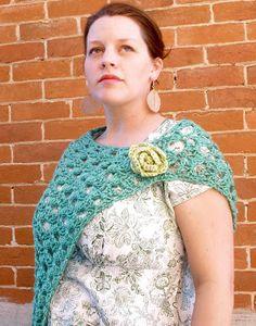 Sarahndipities ~ fortunate handmade finds: Things to Make: Crochet Wrap Pattern