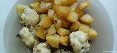 Fotorecept: Plnené šampiony ala Černá Potato Salad, Stuffed Mushrooms, Potatoes, Ethnic Recipes, Food, Stuff Mushrooms, Potato, Essen, Meals