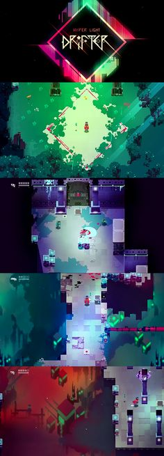 Hyper Light Drifter is an action adventure game that feels like a direct descendant of challenging titles from the 16-bit era.