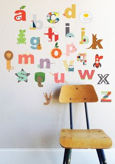 """26 INDIVIDUAL LETTERS - approx 5"""" H This is our new LOWERCASE alphabet…"""
