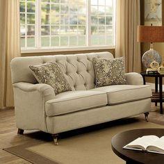 Furniture Of America Laney Love Seat CM6863-LV