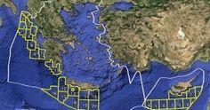 """""""Σβήνουν"""" την Ελλάδα από τον ενεργειακό χάρτη της Μεσογείου οι Financial Times"""