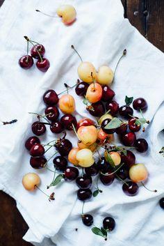 summer cherries by dollyandoatmeal, via Flickr