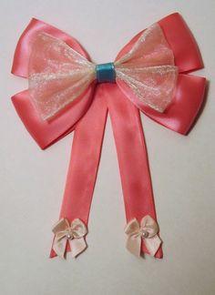 Cinderella Pink Dress Hair bow Disney Inspired. $9.00, via Etsy.