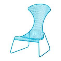 IKEA PS 2012 Easy chair - blue  - IKEA