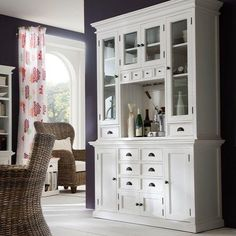Nova Solo Halifax White Kitchen Hutch Unit - available to buy online or at Choice Furniture Superstore UK on stockist sale price. Get volume - discount with fast and Free Delivery.