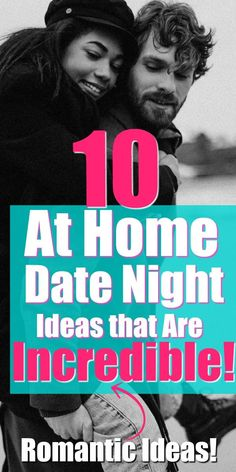 Spice up your at-home date night with these incredibly romantic date night ideas you can enjoy at home! They're simple, fun and you'll love them! night ideas at home fun