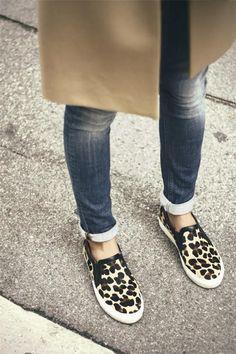 Fashion Inspiration   Camel, Denim  Leopard Print - DustJacket Attic