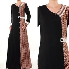Arabic Islamic Wear Ladies Abaya Batik Clothing Long by MissMode21, $28.00