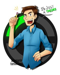 Just a Theory!! // MatPat / The Game Theorists by xOtakuStarx on DeviantArt