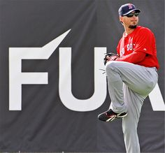 Boston Red Sox Josh Beckett ...picture pretty much says it all.