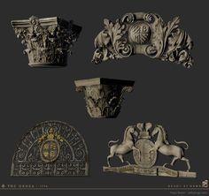 ArtStation - The Order - props, Hugo Beyer