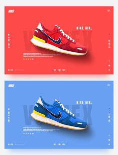 Food Web Design, Web Design Trends, Ad Design, Website Design Layout, Layout Design, Sneaker Posters, Shoe Poster, Shoes Ads, Fashion Graphic Design