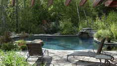 Small Backyard Pool Landscaping   ... pool landscaping - easy landscaping ideas for small front yard