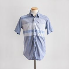 Yosemite Shirt in Royal/White Gingham from Rough & Tumble. Made in USA.