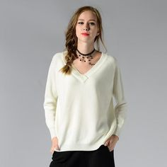 b57cb0e9be38e Merino Wool Long Sleeve Winter Sweater Tops for Women