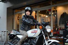 女子ライダーのバイクファッション・その1「いい女を目指してみる」