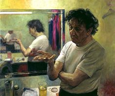 Ken Dodd by David Cobley oil on canvas, 2004 30 in. x 36 in. (762 mm x 914 mm)