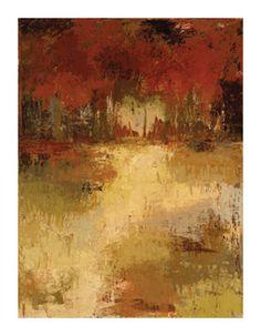 Fall Foliage I Edición limitada por Caroline Ashton en AllPosters.es