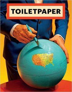 Amazon.com: Toilet Paper: Issue 12 (9788862084284): Maurizio Cattelan, Pierpaolo Ferrari: Books