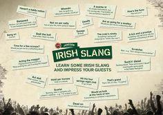 Jameson's guide to Irish slang.