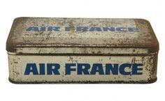 vintage Air France box