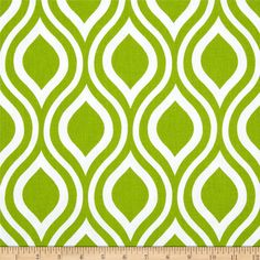 Premier Prints Nicole Chartreuse from @fabricdotcom  Screen printed on cotton duck; this versatile medium weight fabric is perfect for window accents (draperies, valances, curtains and swags), accent pillows, duvet covers and upholstery. Create handbags, tote bags, aprons and more. *Use cold water and mild detergent (Woolite). Drying is NOT recommended - Air Dry Only - Do not Dry Clean. Colors include white and chartreuse green.
