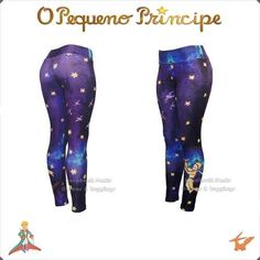 Calça Legging O Pequeno Príncipe - Galaxy Print | Produto exclusivo  | Exclusive design by HardRock Pants | hardrockpants.loja2.com.br | facebook.com/hardrockpants | pinterest.com/hardrockpants |#calça #legging #estampada #OPequenoPrincipe #TheLittlePrince #LePetitPrince#galaxy #print #moda #feminina #alternativa #exclusiva #CinturaAlta #printed #leggings #HardRockPants
