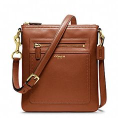 I love this little over the shoulder bag LEGACY SWINGPACK IN LEATHER