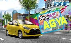Toyota Agya versi 2018 kini hadir dengan polesan mesin yang lebih mumpuni meskipun termasuk golongan mobil menengah kebawah. Mesin yang disematkan di Toyota Agya adalah tipe K12M dengan berbagai varian spoiler dan desain yang trendi. Toyota, Vehicles, Car, Automobile, Cars, Cars, Vehicle